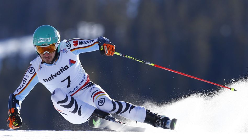 Skistar Neureuther: Podest zum Greifen nah