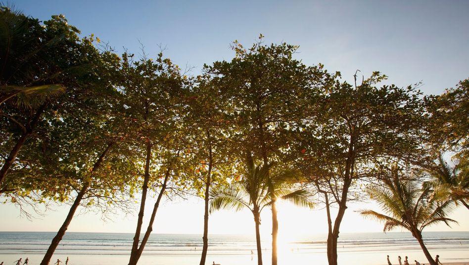 Strand von Santa Teresa in Costa Rica