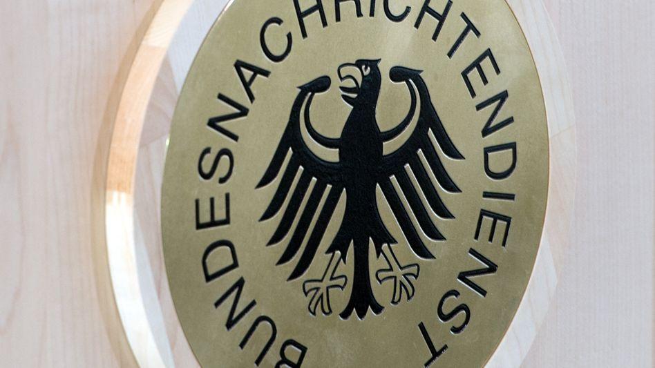 Logo des Bundesnachrichtendienstes (BND): Erste Rücktrittsforderungen geäußert