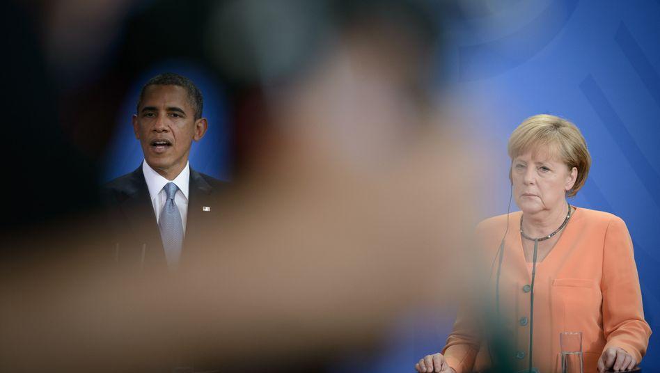 US-Präsident Obama, Kanzlerin Merkel: Was tut Berlin?