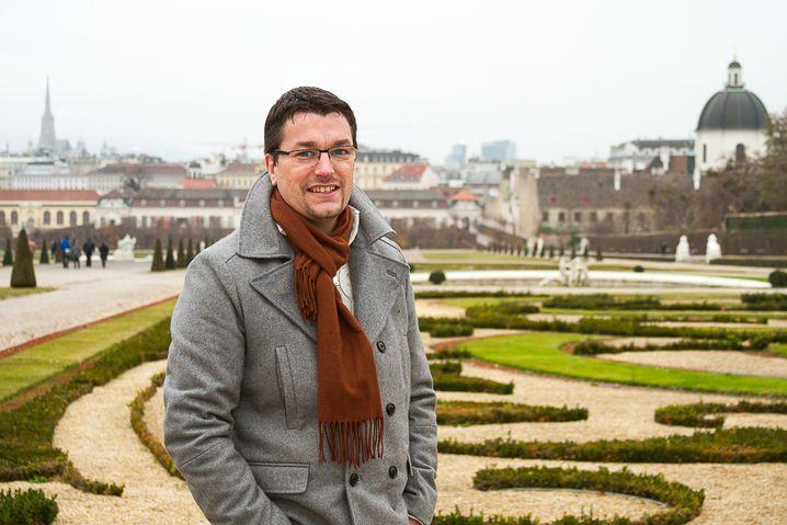 Jockel Weichert, 37, hat in Wien einen Verein für deutsche Auswanderer gegründet