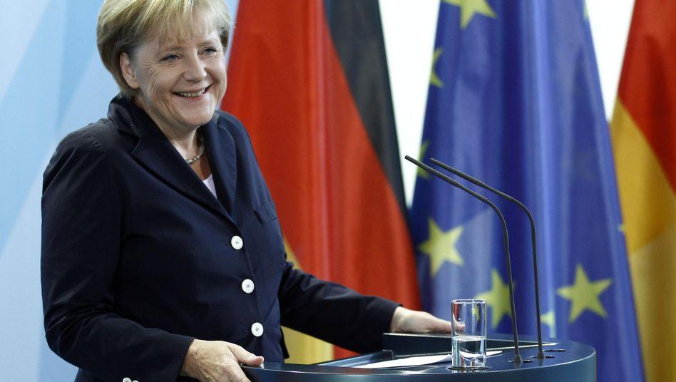"""Bundeskanzlerin Angela Merkel: """"Weitreichendes Konzept für die nächsten Jahrzehnte"""""""