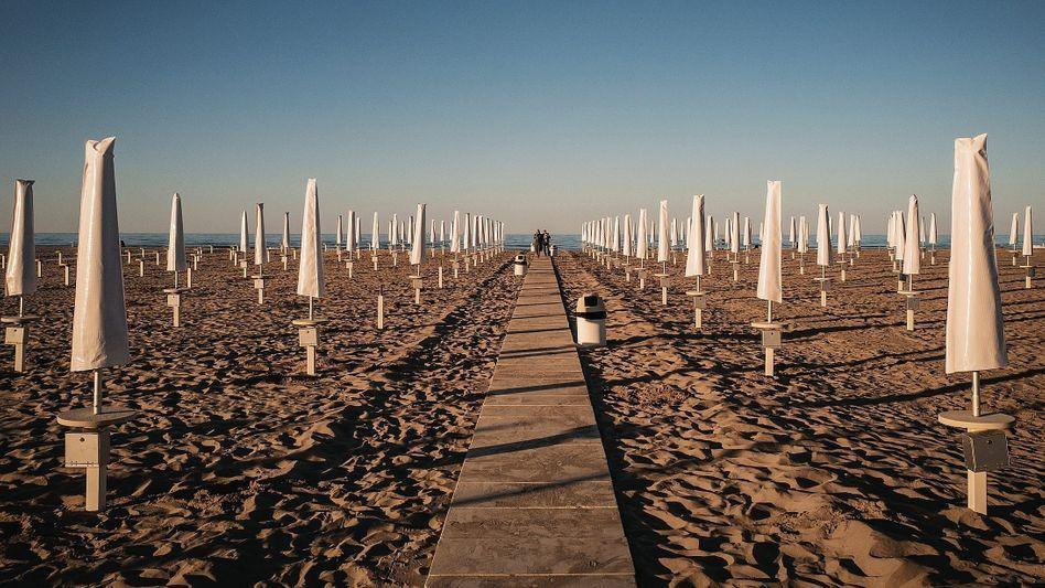 "A Beach in Rimini: ""It's like being born again!"""