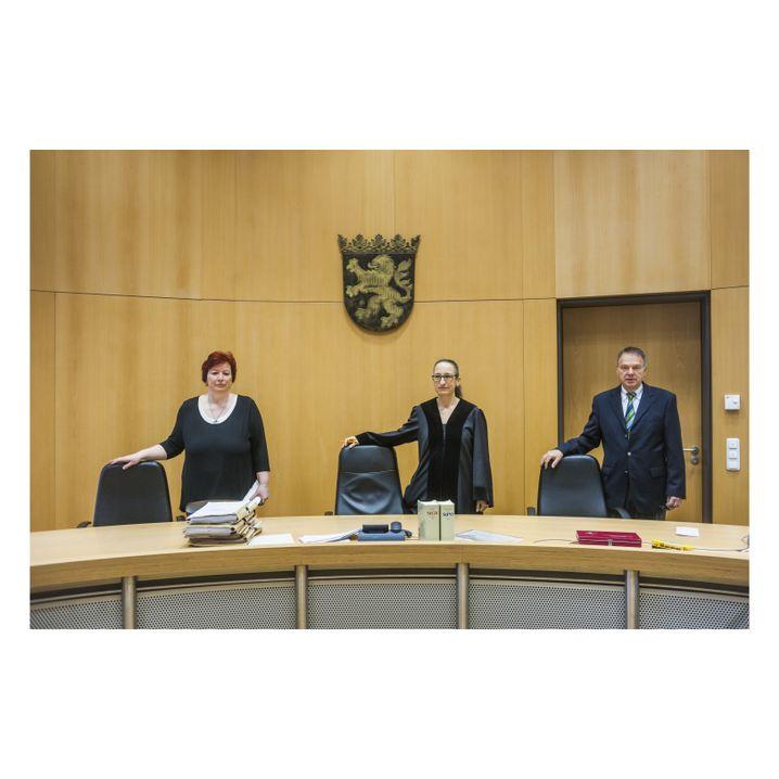 Kammer in Alsfeld: Schöffin Kreuder, Richterin Knöß, Schöffe Pietsch