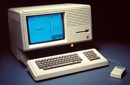 Apple Lisa: Innovative Benutzeroberfläche und leistungsfähige Hardware, aber kaum Käufer, die bereit waren, dafür 30.000 D-Mark zu bezahlen