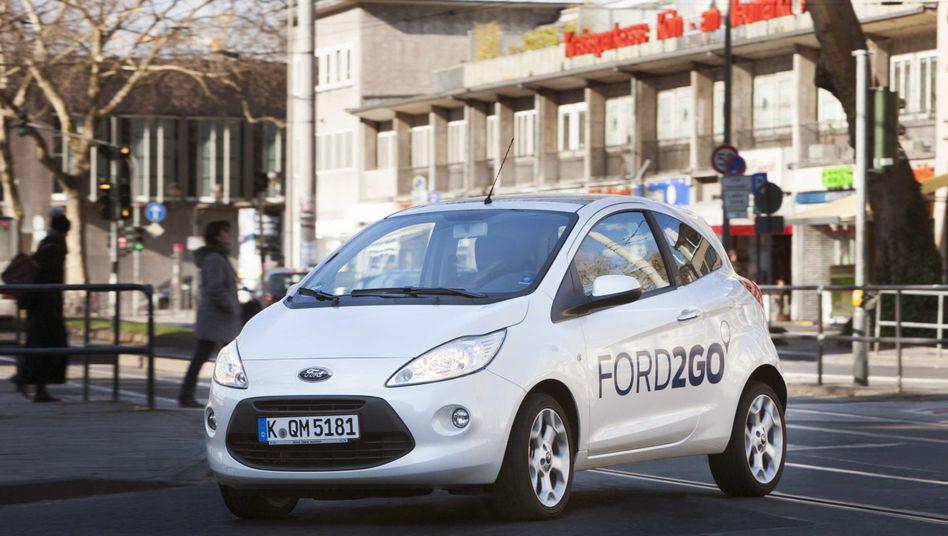 Ford2go-Leihauto: Ford kooperiert mit der Deutschen Bahn und deren Angebot Flinkster