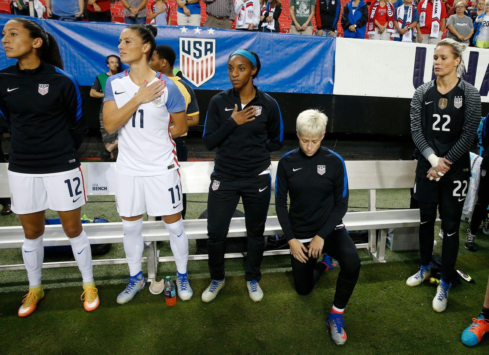 Kniefall-Verbot: US-Fußballerinnen fordern Rücknahme vom Verband