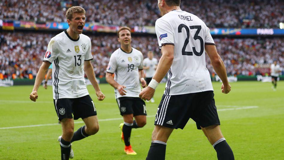 Thomas Müller, Mario Götze, Mario Gomez