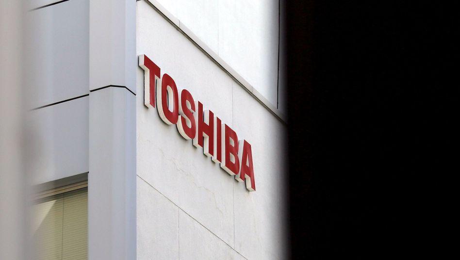 Toshiba-Gebäude in Tokio