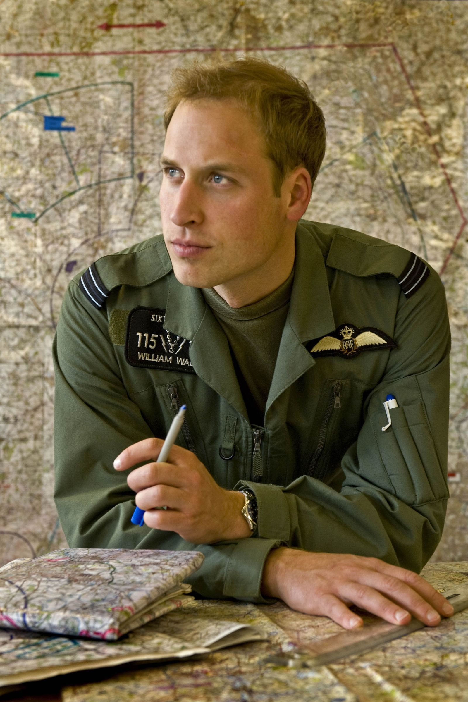 Prinz William / Air Force