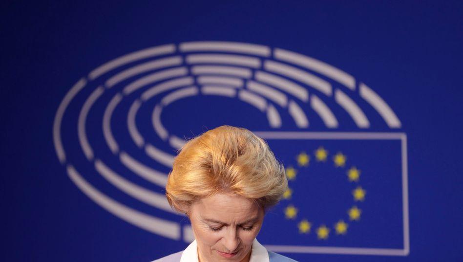 Ursula von der Leyen: Fehler in der Rücktrittsbotschaft