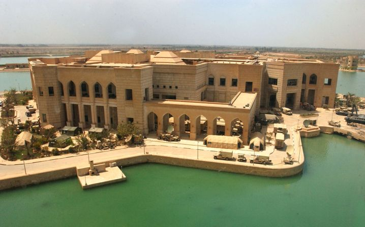 Saddam Husseins Präsidentenpalast in Bagdad