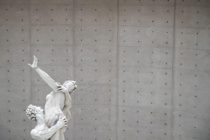 Skulptur von Urs Fischer