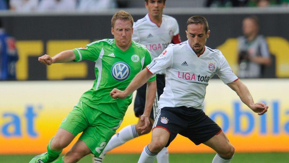 Fußball-Bundesliga: Gustavo im Glück, Magath tobt