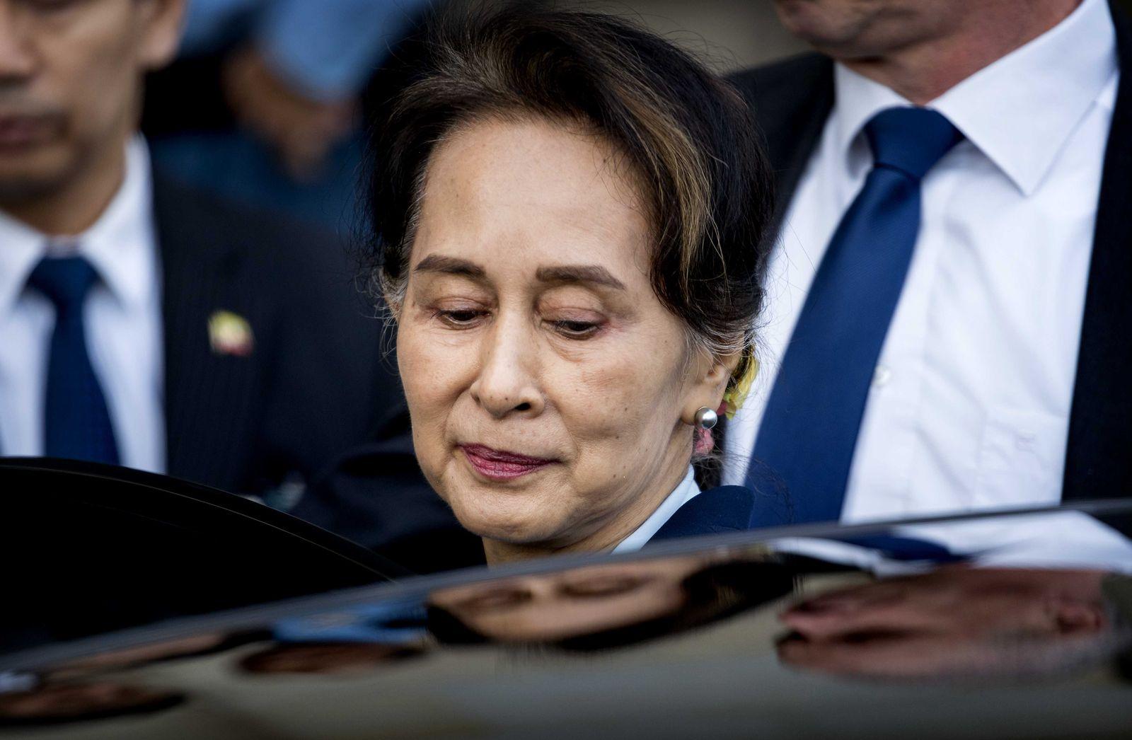 Aung San Suu Kyi Den Haag