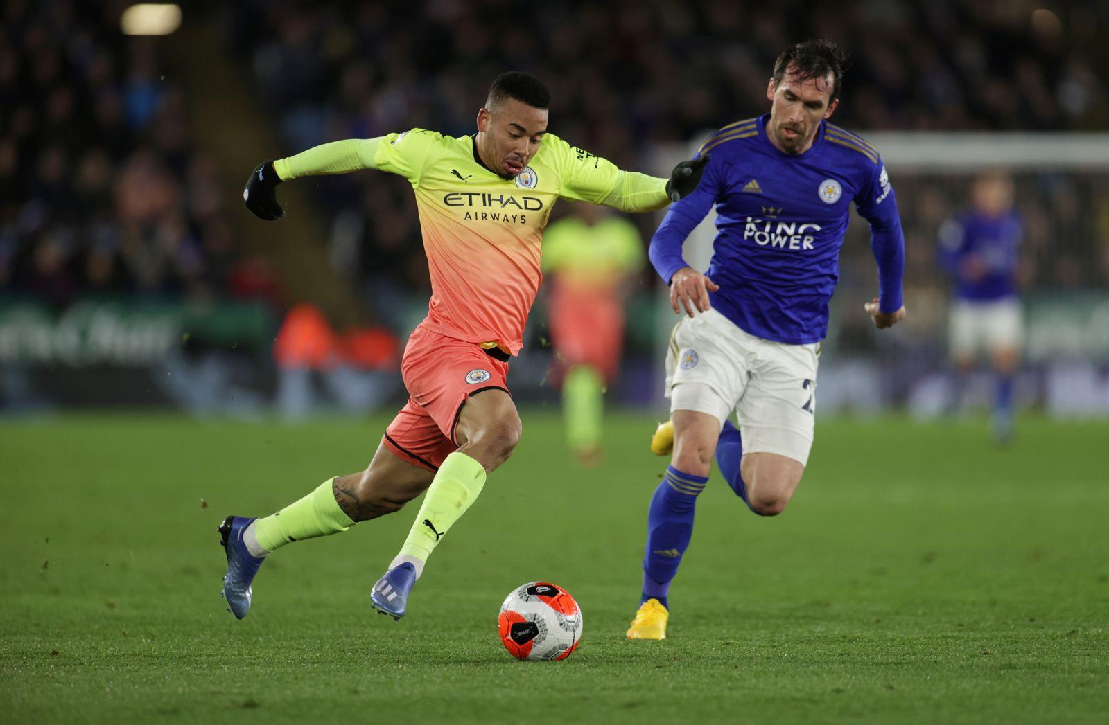 Premier League - Leicester City v Manchester City