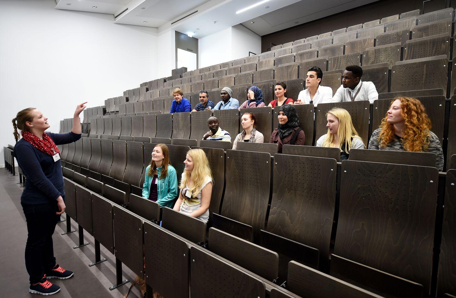 Flüchtlinge / Universität Hildesheim