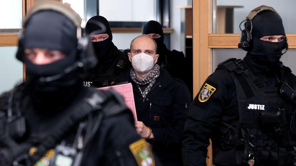Der verurteilte Attentäter Stephan Balliet (Archivbild)