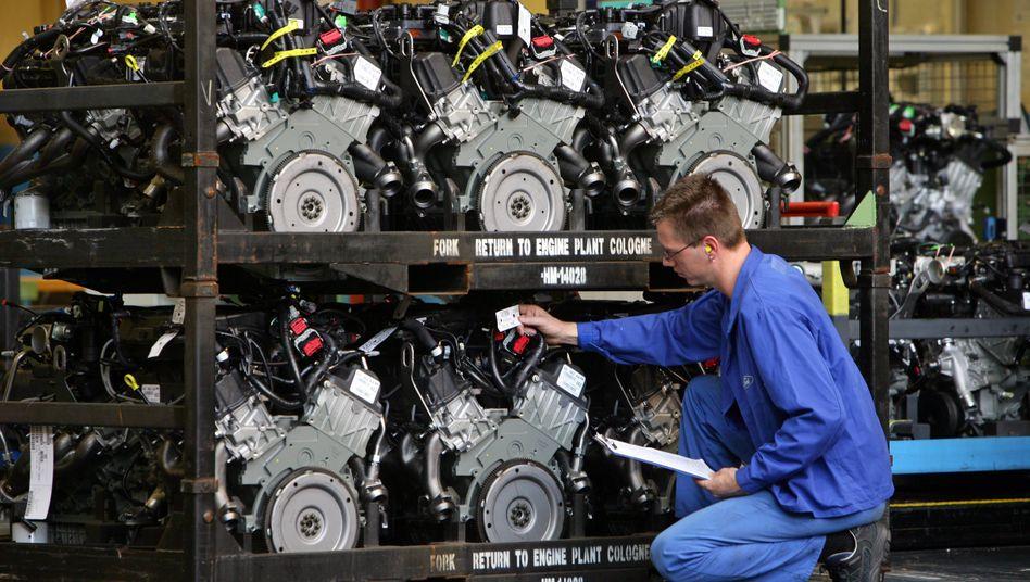 Mitarbeiter bei Ford in Köln: Deutschland ist ein Hochlohnland
