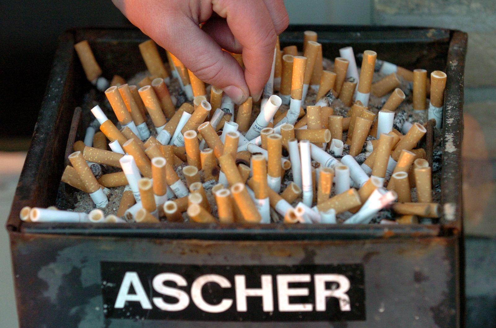 Literatur für das Rauchen