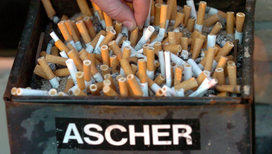 Jedes Jahr sterben in Deutschland 121.000 Menschen an den Folgen von Tabakkonsum