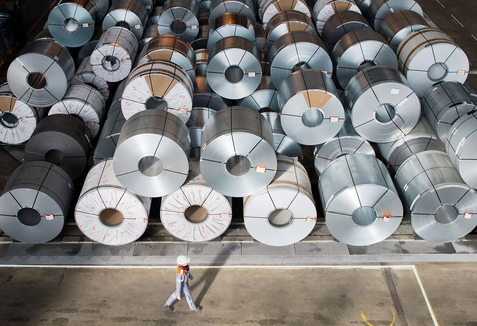 Stahlproduktion/ Deutschland