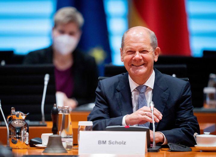SPD-Kanzlerkandidat OIaf Scholz