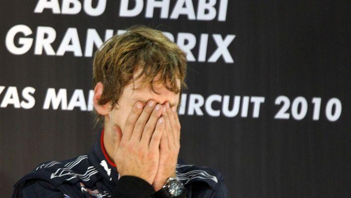 F1-Weltmeister: Vettels Tränen des Triumphs