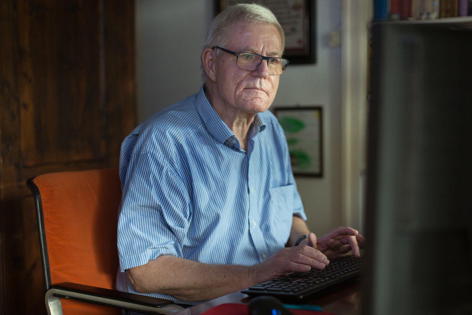 EINMALIGE VERWENDUNG Wolf Melzer - Gegen Hass im Netz