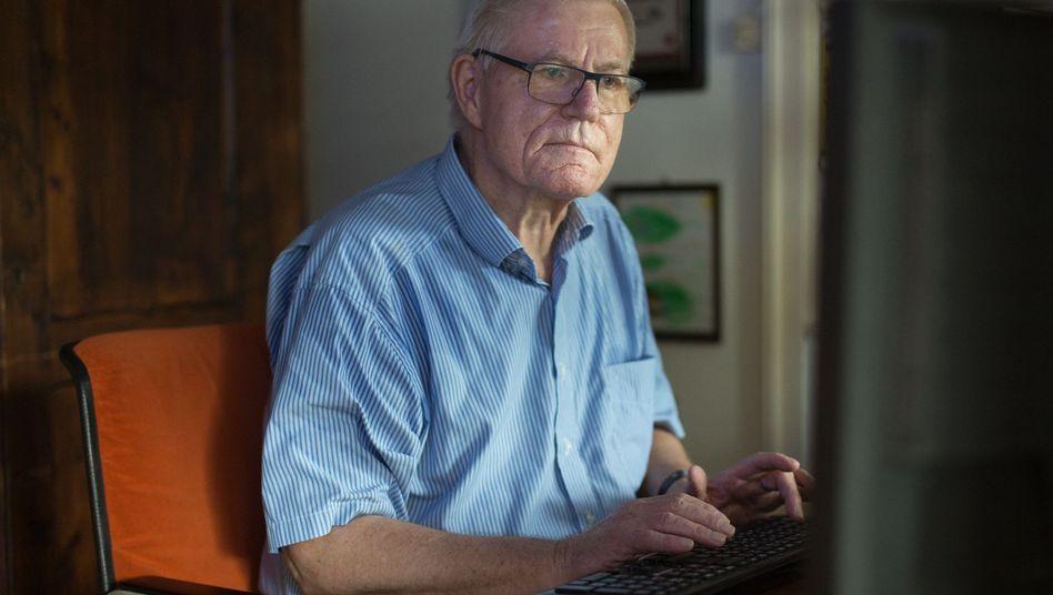 Wolf Melzer am Rechner