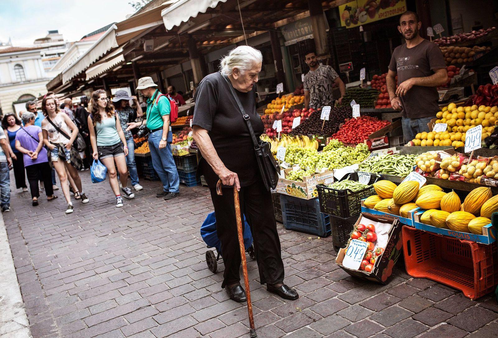 Griechenland Konjunktur Armut Plus