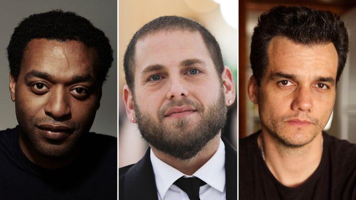 von links: Chiwetel Ejiofor, Jonah Hill, Wagner Moura