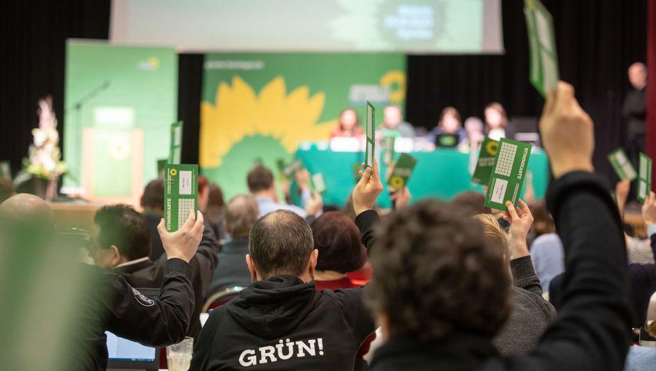 Abstimmung bei Bündnis 90/Die Grünen