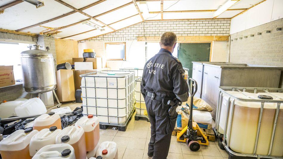 Polizeieinsatz in Nederweert