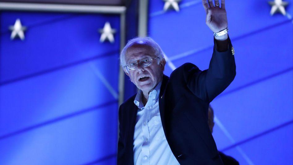 Sanders in Philadelphia