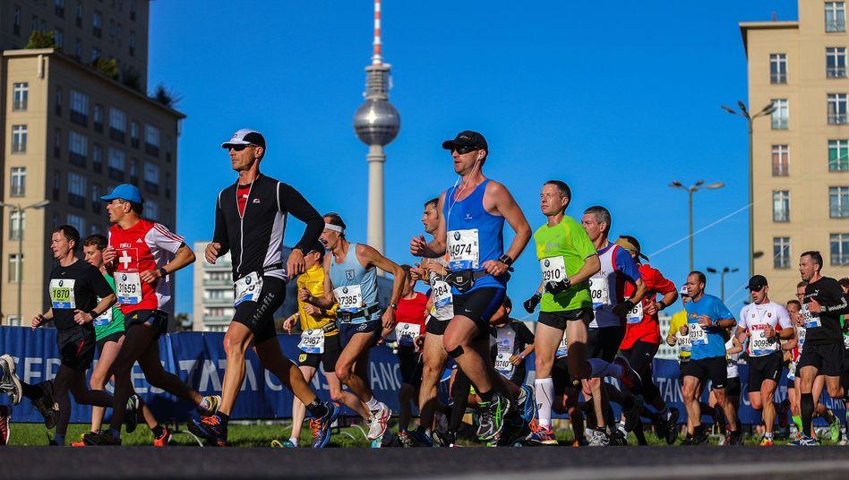 Läufer beim Berlin-Marathon 2013: Extremsport, aber durchaus gesund für den Körper