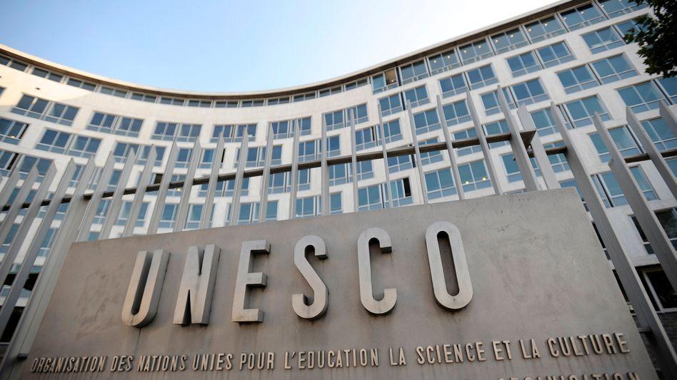 Unesco-Hauptquartier in Paris: Antrag der Palästinenser stattgegeben