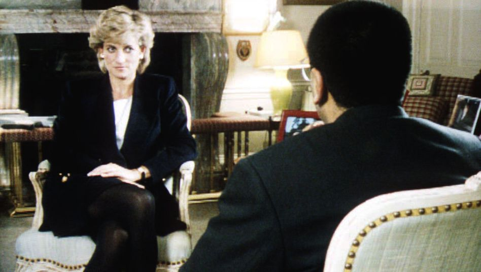 Journalist Martin Bashir sprach 1995 mit Prinzessin Diana