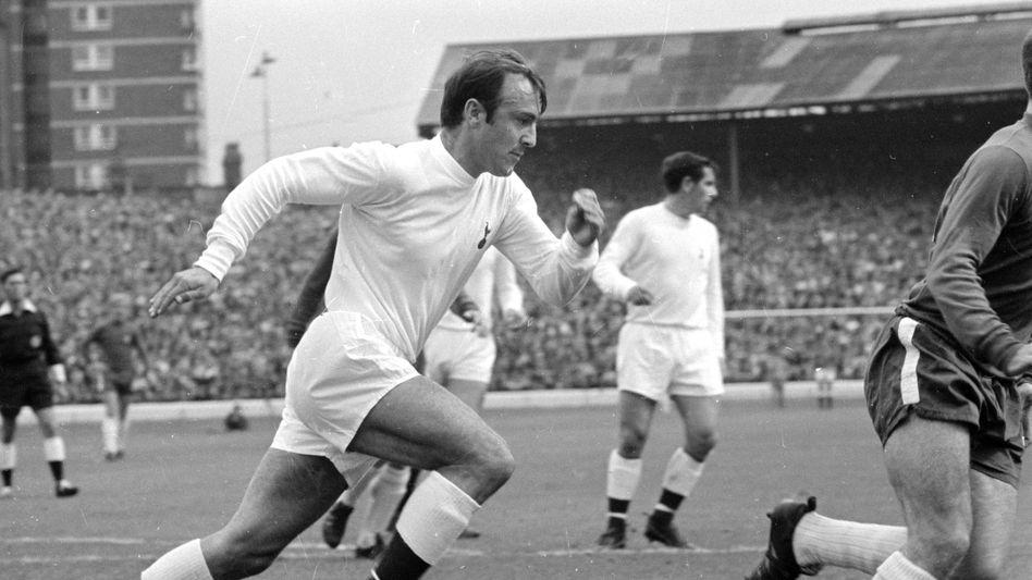 Jimmy Greaves in Aktion (Foto von 1968): Sechsmal war er der Torschützenkönig in England – Rekord bis heute
