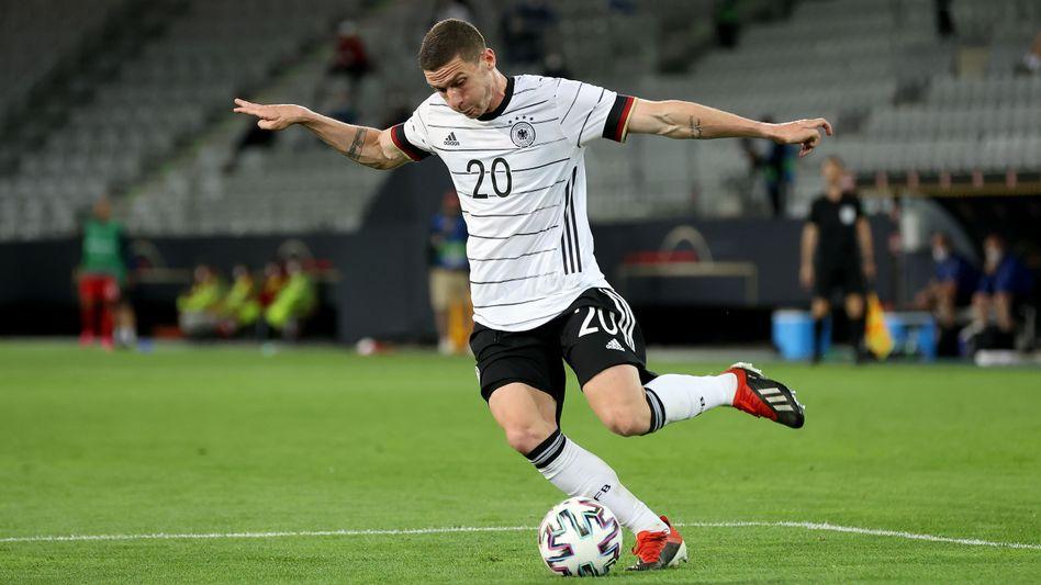Robin Gosens beim Länderspiel gegen Dänemark