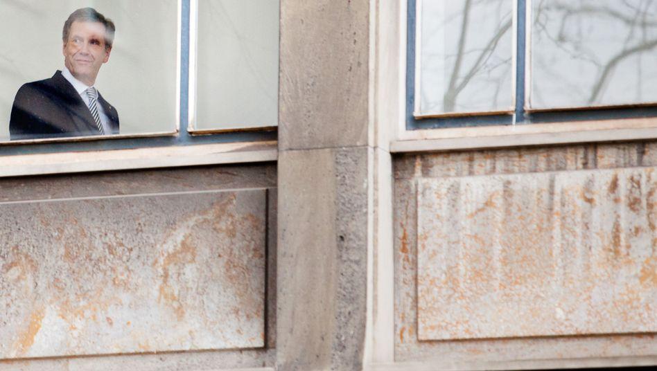 Ex-Bundespräsident Christian Wulff im Gericht: Er hofft auf Freispruch