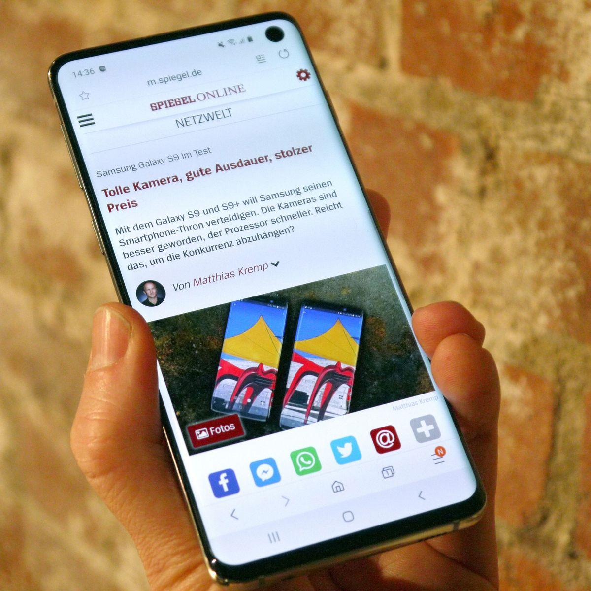 Samsung Galaxy S10 Wann Sollte Man Das Smartphone Kaufen Der