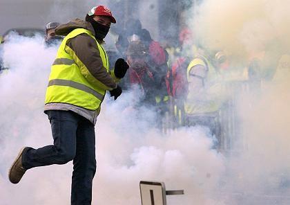 """Protestierende Hafenarbeiter in Straßburg: """"Das war nicht in unserem Sinne"""""""