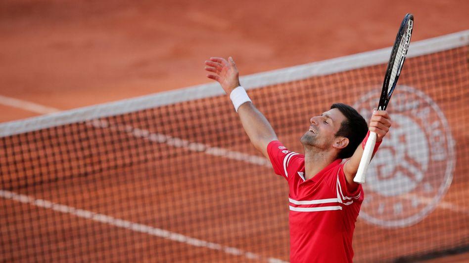 Novak Djoković: »Ich habe meine Schutzengel aufgesucht«