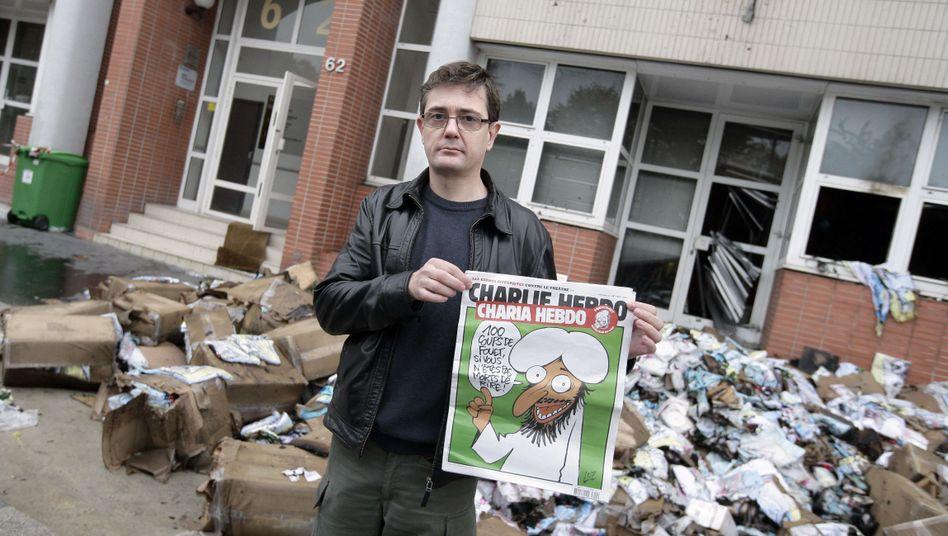 Chefredakteur Charbonnier: Rechtfertigung für die Karikaturen