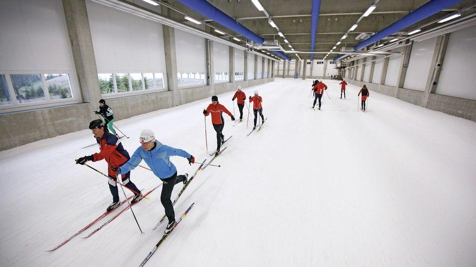 Skihalle in Oberhof