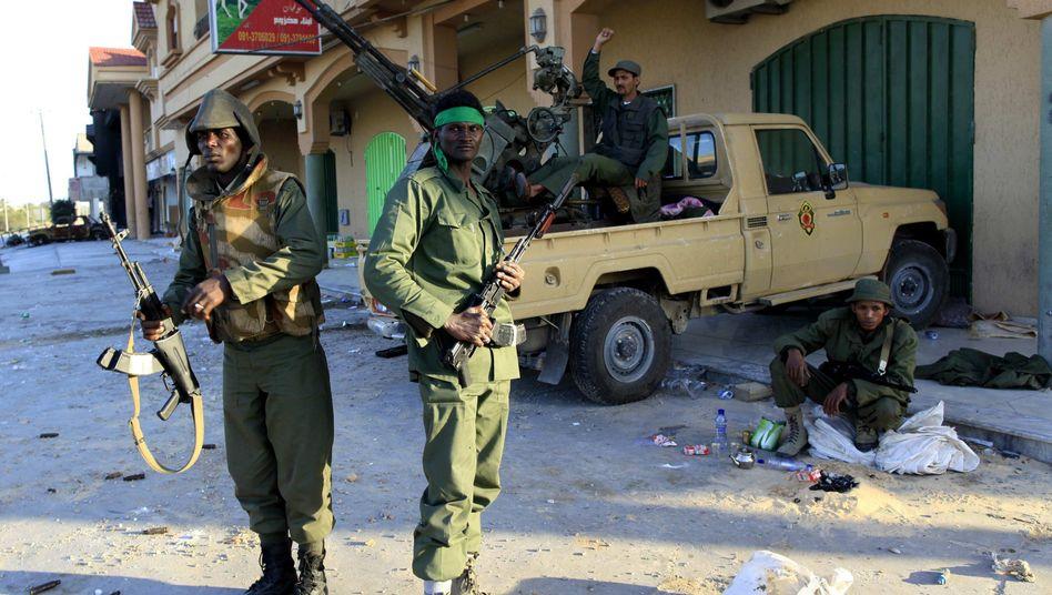 Gaddafis Soldaten in Misurata: Kämpfen mit allen Mitteln