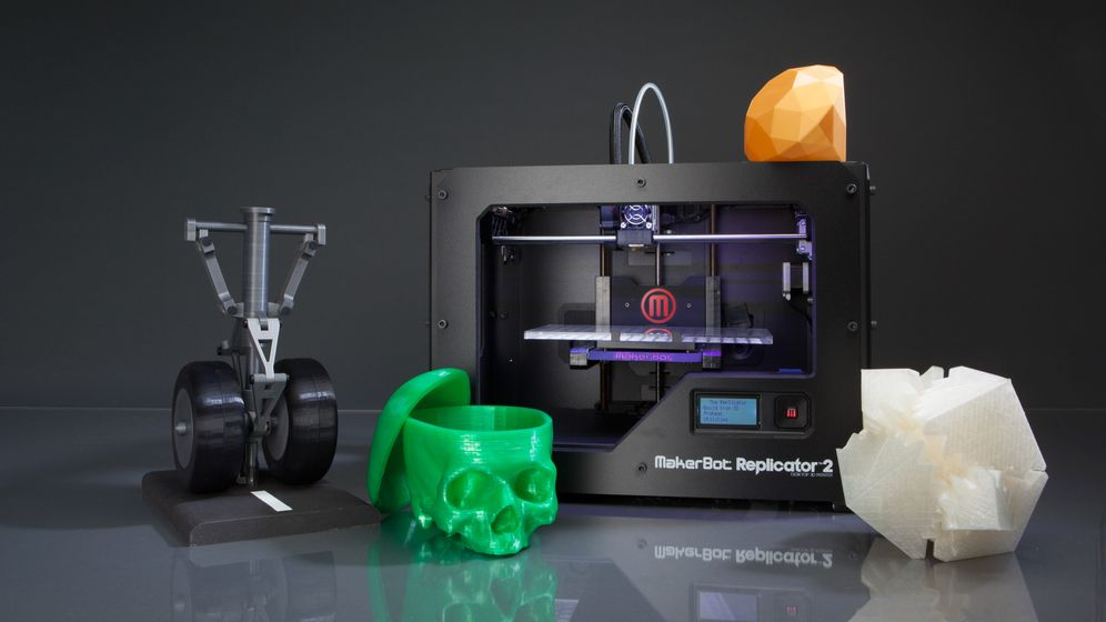 MakerBot Replicator 2:: Lampen aus dem Drucker