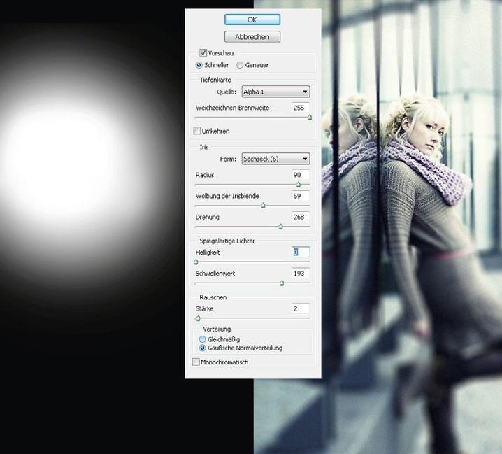 Unschärfeeffekt: Die Photoshop-Methode ist langwierig