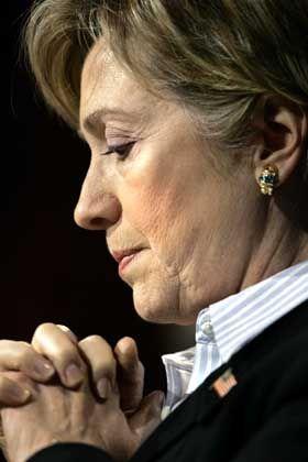 Hillary Rodham Clinton: Entdeckung neuer Wähler im republikanischen Terrain.